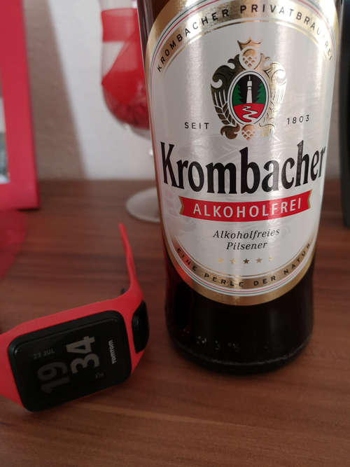 Alkoholfreies Bier - ein isotonisches Getränk nach dem Laufen