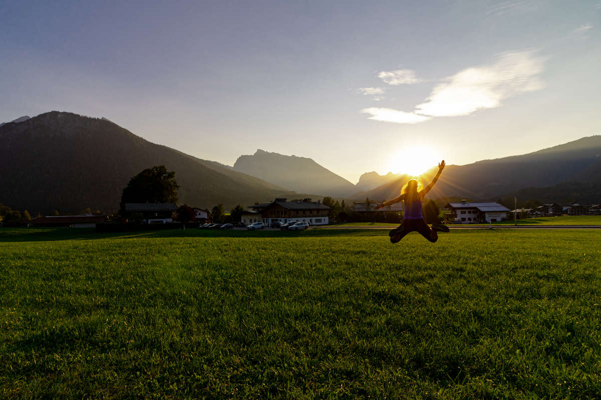 Laufen am Berchtesgadener Land