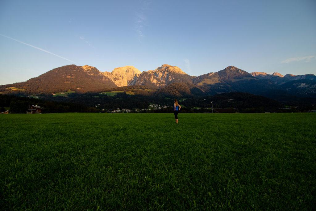 Sonnenuntergang in Oberschönau