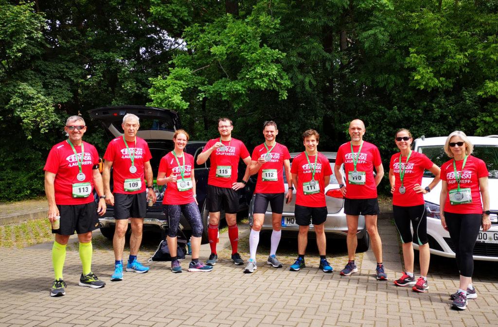 Unser Cierpinski Sport Lauftreff nach Halbmarathon Bernburg