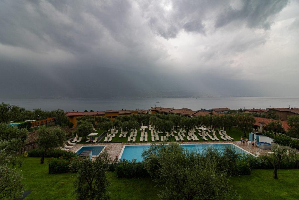 Regen am Gardasee